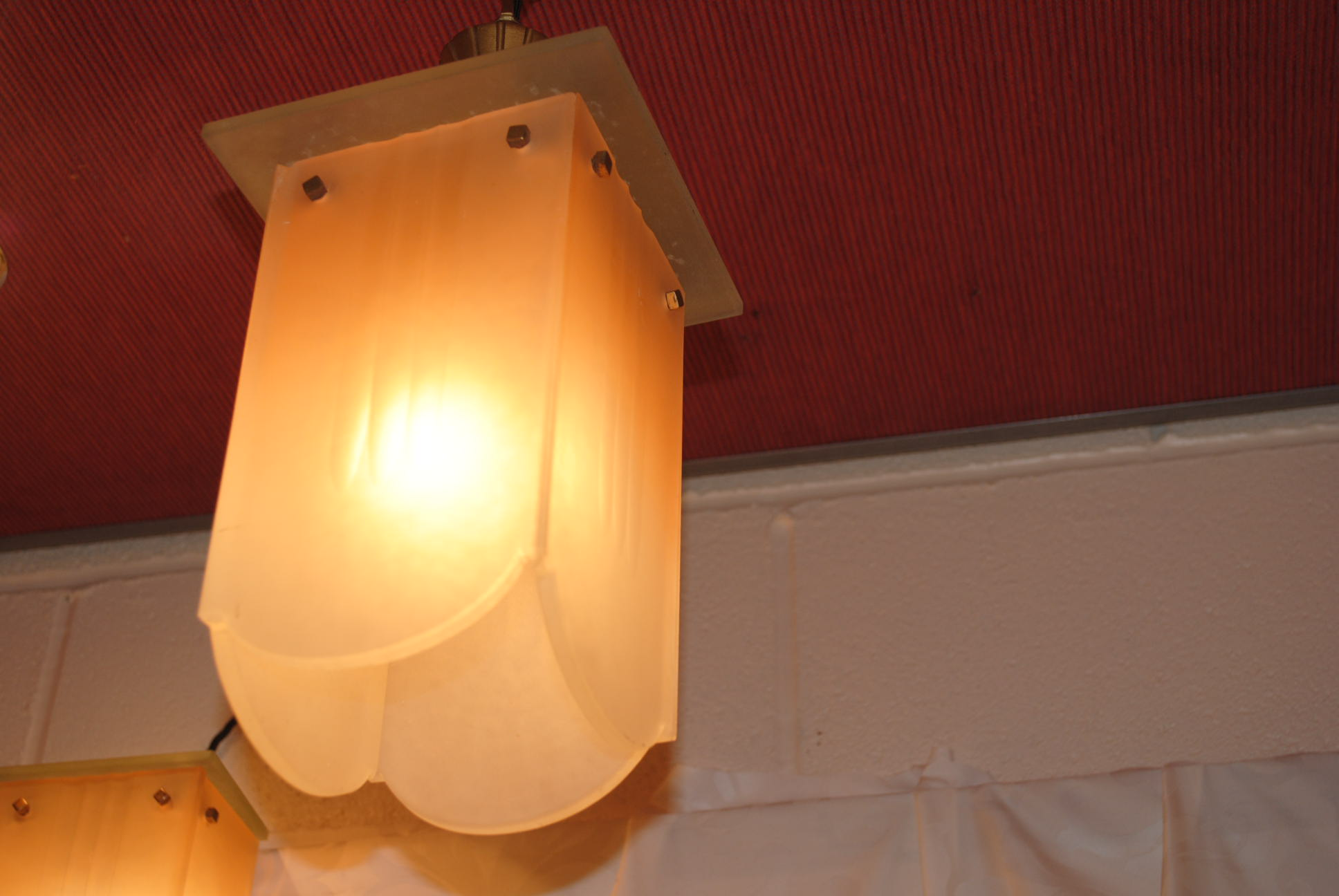 Wall Lights And Matching Ceiling Lights : Art Deco Ceiling and Wall light Cloud 9, Art Deco Furniture Sales