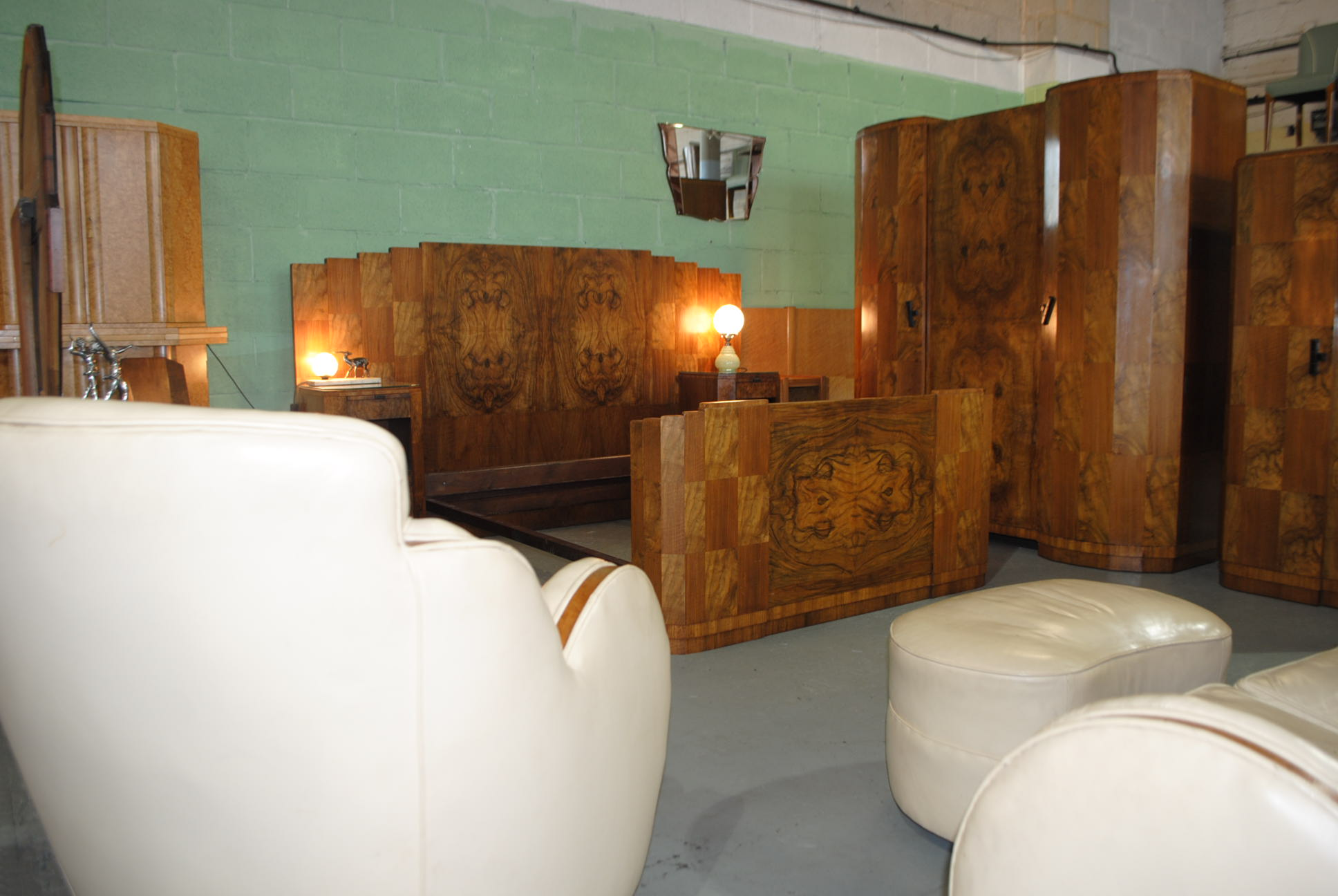 Art Deco Hille Bedroom Suite Cloud 9 Art Deco Furniture Sales