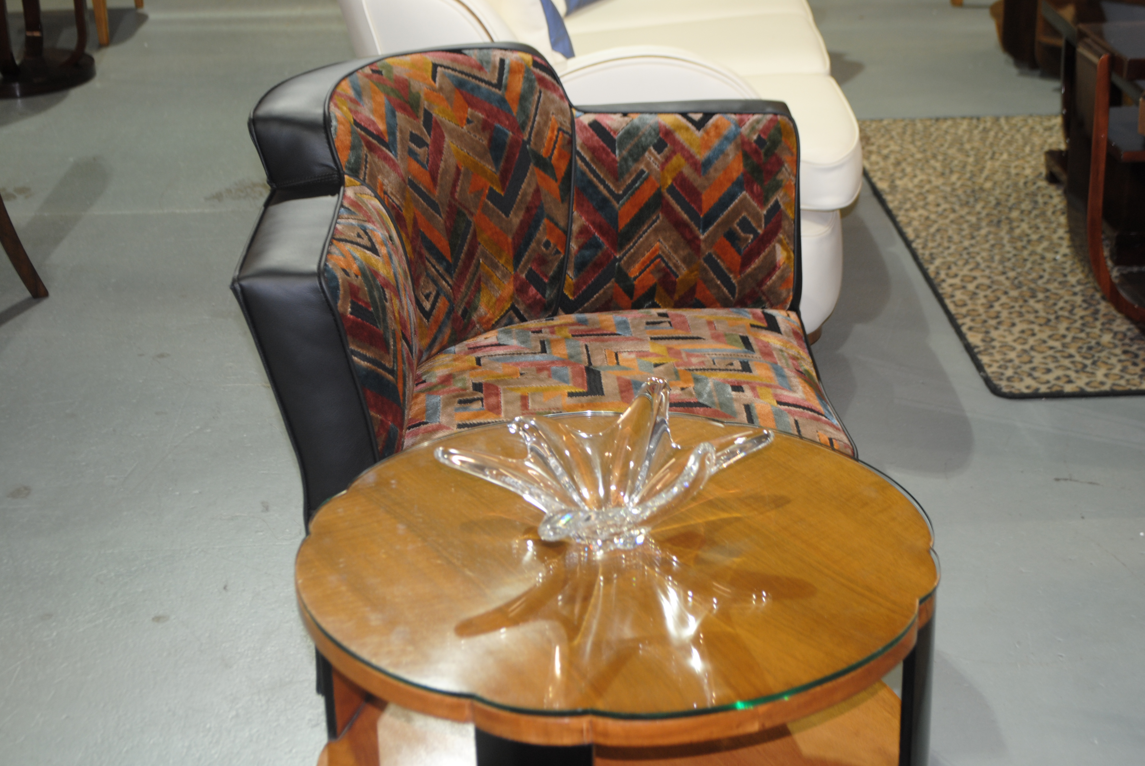 Art deco conversation chairs love seats cloud 9 art deco furniture sales - Ways of accessorizing love seats ...