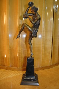 bronze art deco original