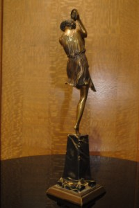 le faguays art deco sculpture