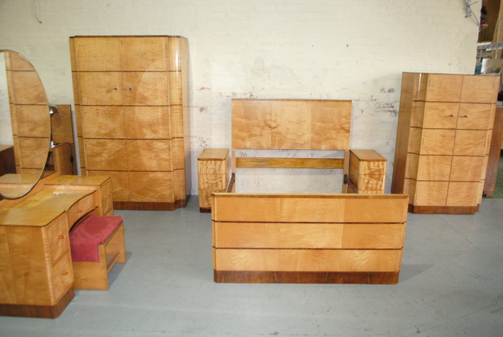 Art deco bedroom suite cloud 9 art deco furniture sales for Art deco bedroom designs