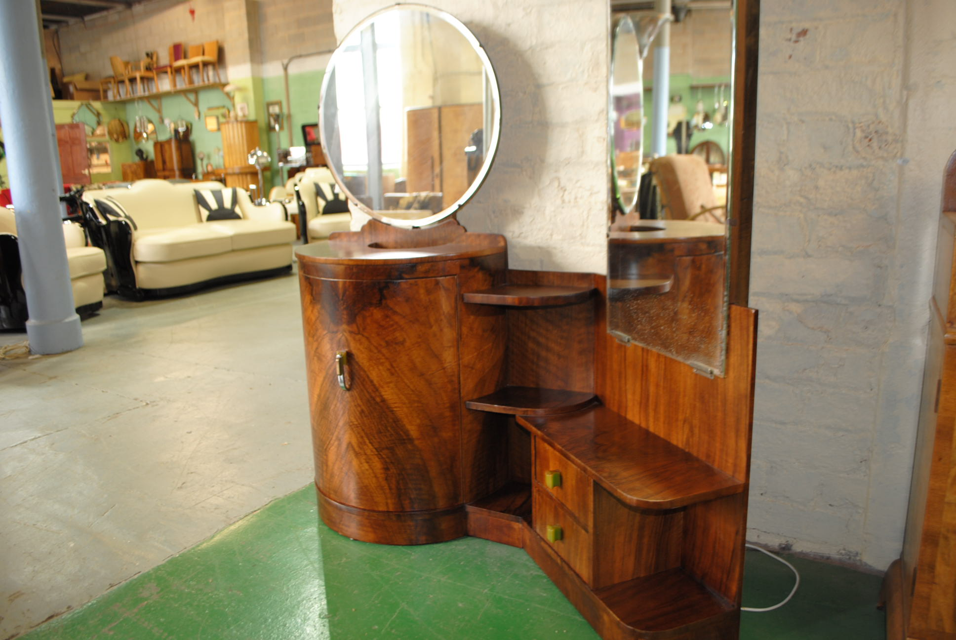 Art deco dressing table cloud 9 art deco furniture sales - Deco dressing ...