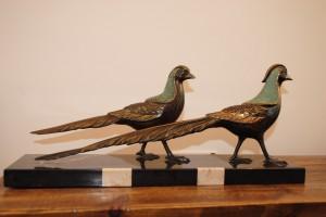 Art Deco Pheasants
