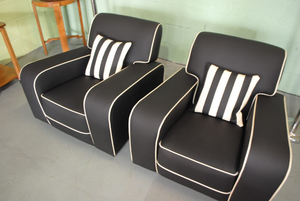 Art Deco Armchairs Cloud 9 Furniture Sales