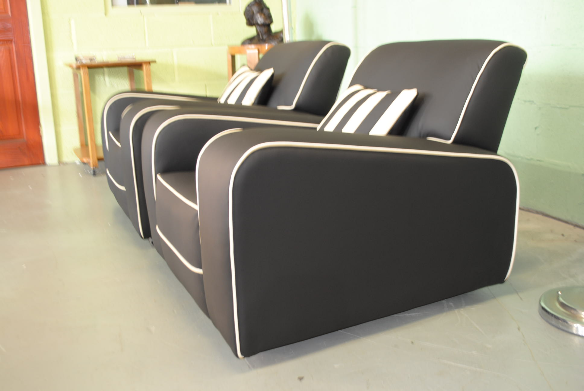 Art Deco Armchairs Cloud 9 Art Deco Furniture Sales