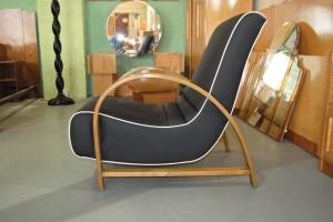 Art Deco Bentwood Armchair