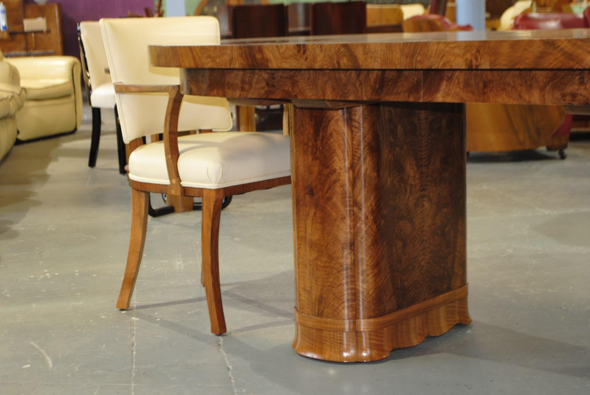 Art Deco Dining Room Suite Cloud 9 Art Deco Furniture
