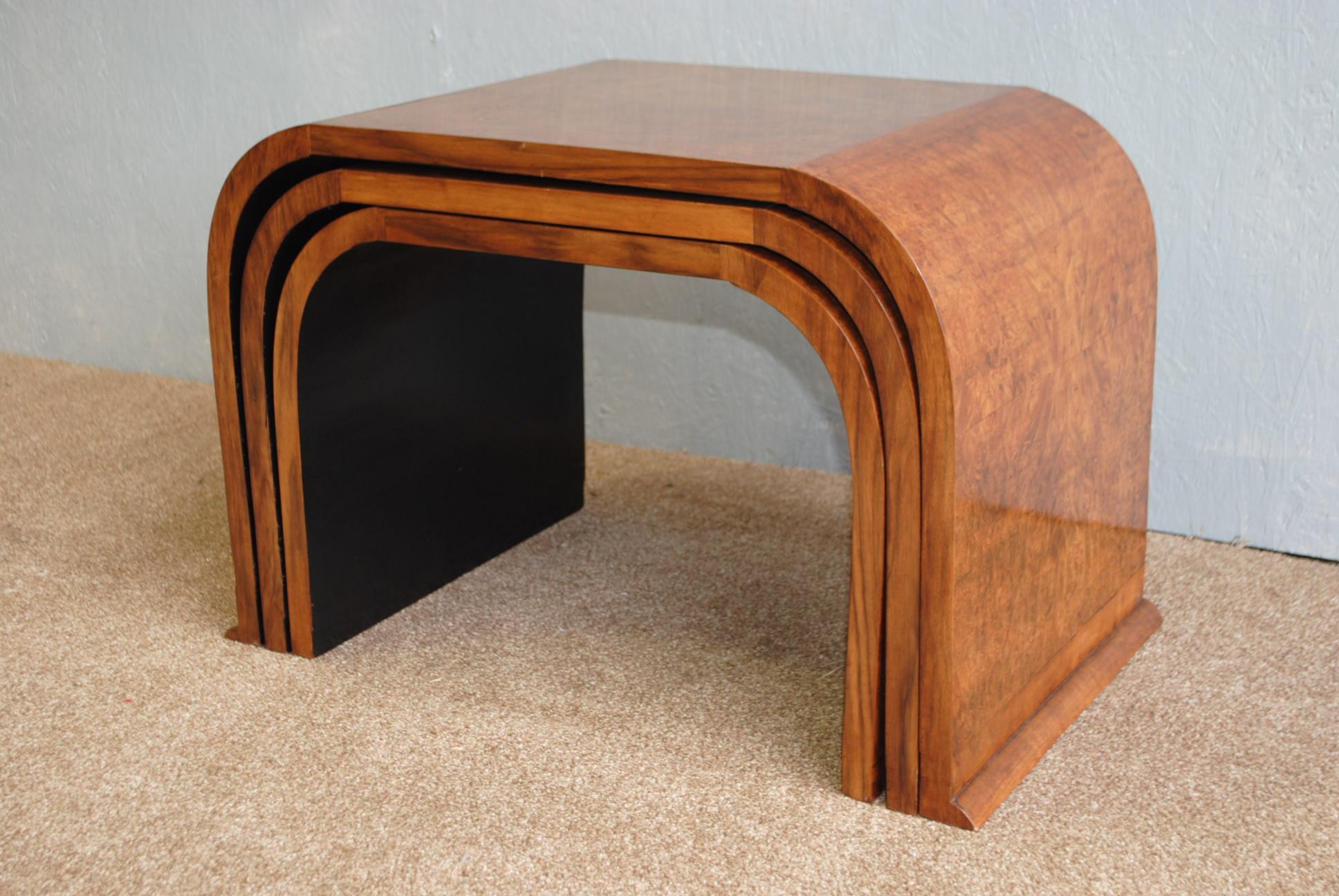 Art Deco Hille Nest of Tables || Cloud 9, Art Deco Furniture Sales