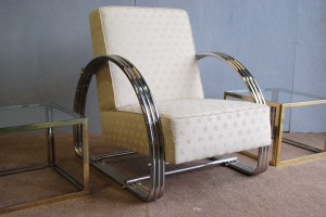 American Art Deco Armchair