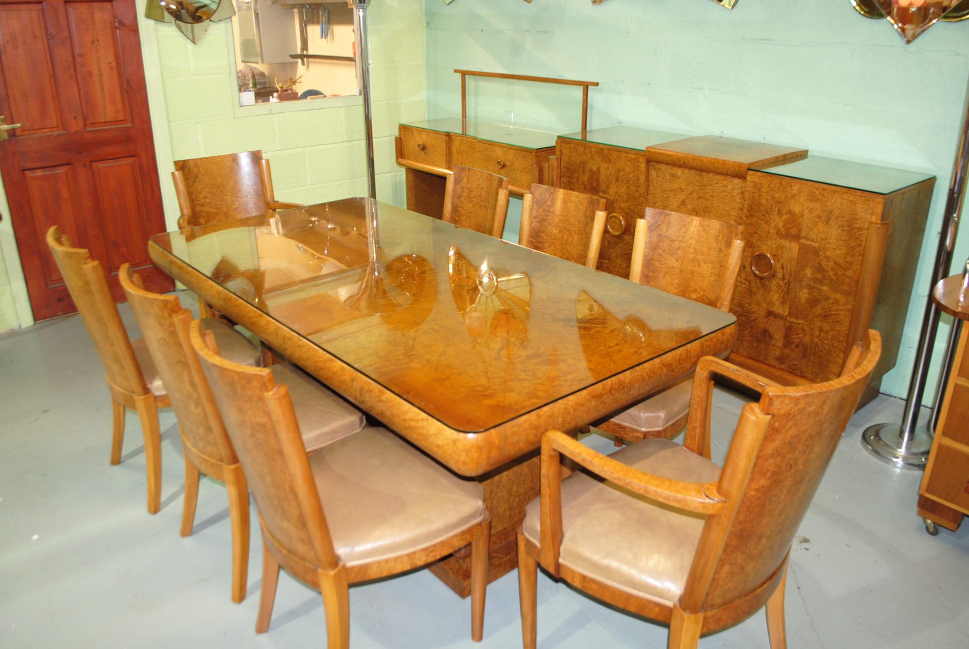 art deco hille dining room suite cloud 9 art deco furniture sales hille art deco dining suite