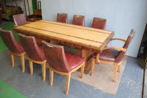 Maurice Adams Art Deco Dining Suite