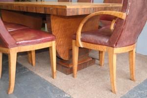 Maurice Adams Art Deco Dining Suite