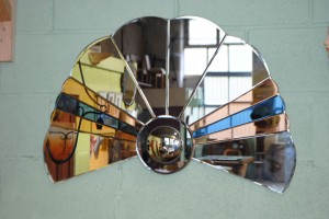 Art Deco Cloud Mirror