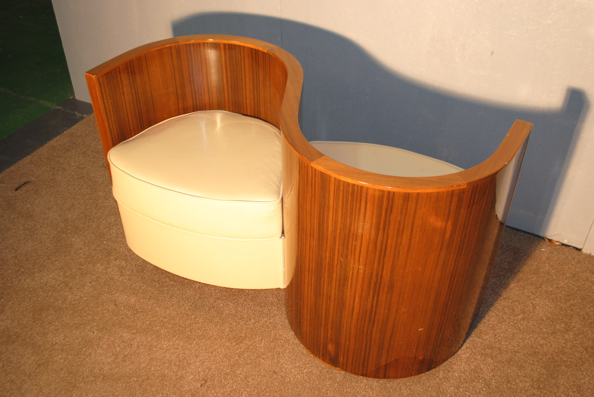 Art Deco Love Seat Cloud 9 Art Deco Furniture Sales