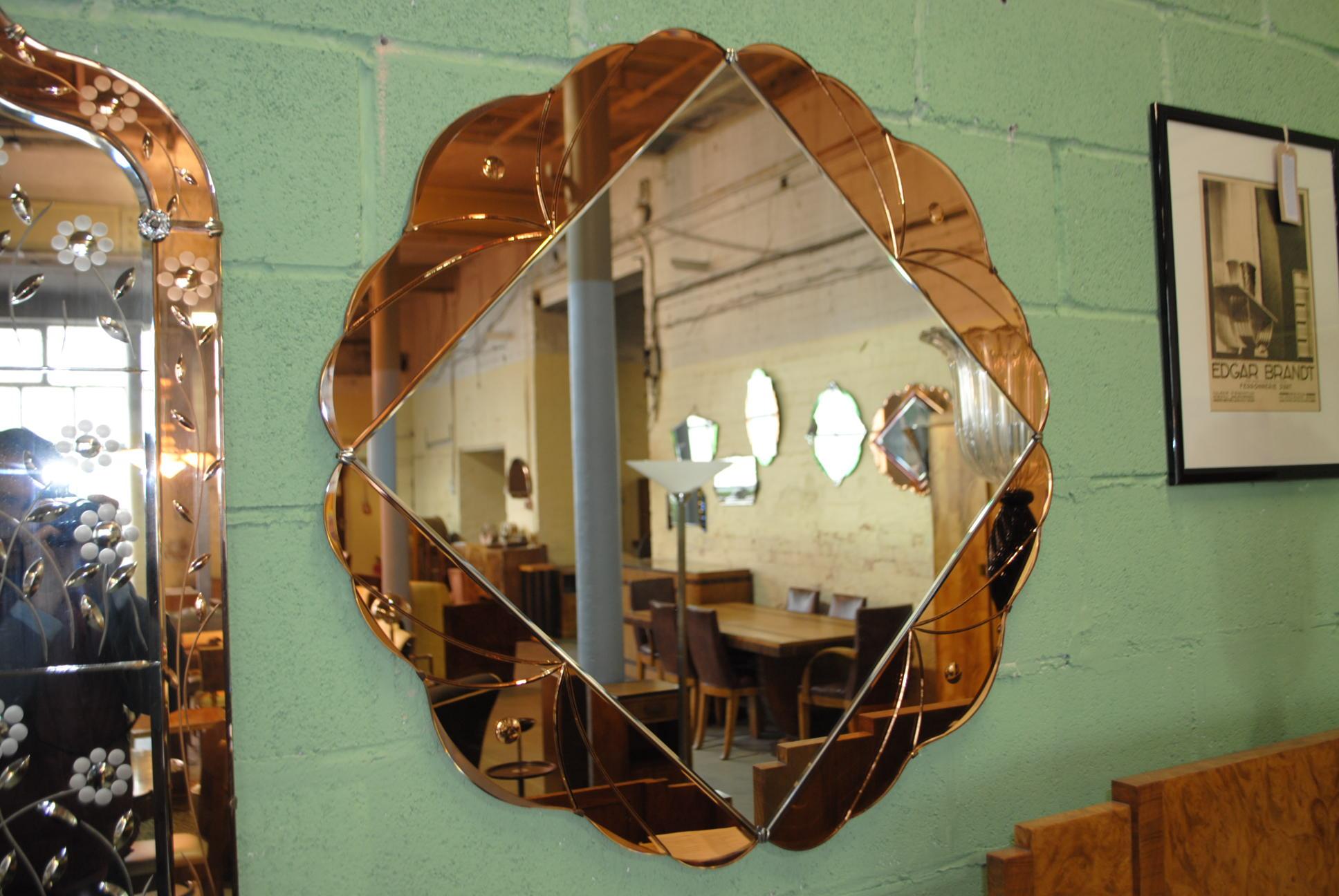 Art Deco Mirror Cloud 9 Art Deco Furniture Sales