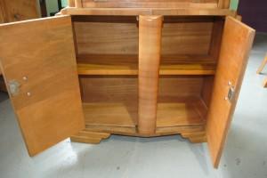 Walnut Art Deco Bureau