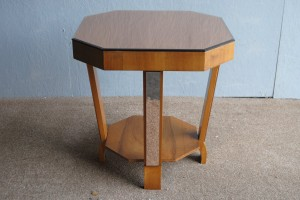 Art Deco Mirrored Occasional Table