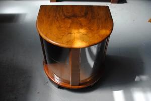 Art Deco Demi-Lune Cabinet