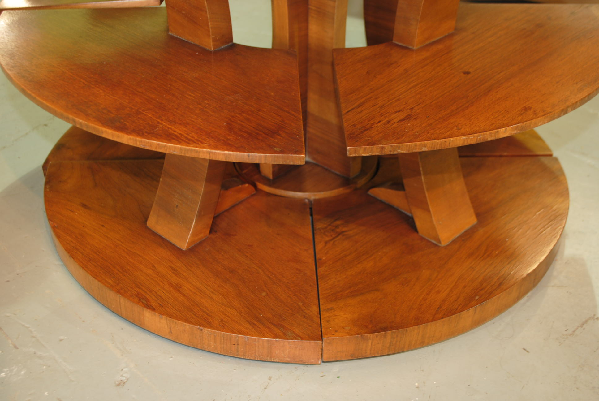 Art Deco Epstein Airplane Nest of Tables Cloud 9 Art Deco