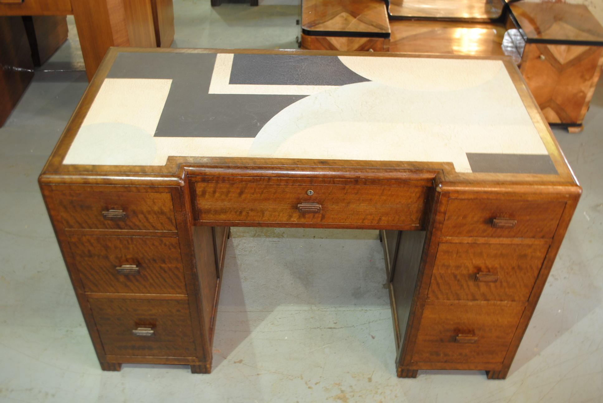Art Deco Betty Joel Desk Cloud 9 Art Deco Furniture Sales