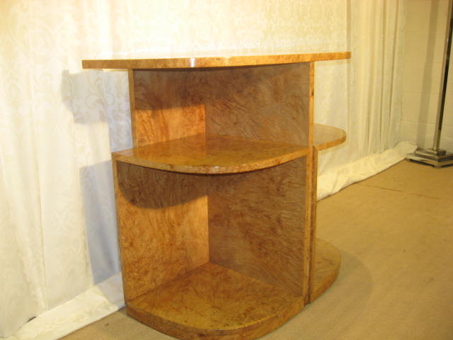 Ray Hille D Shaped Console With 2 Under Tables Fantastic