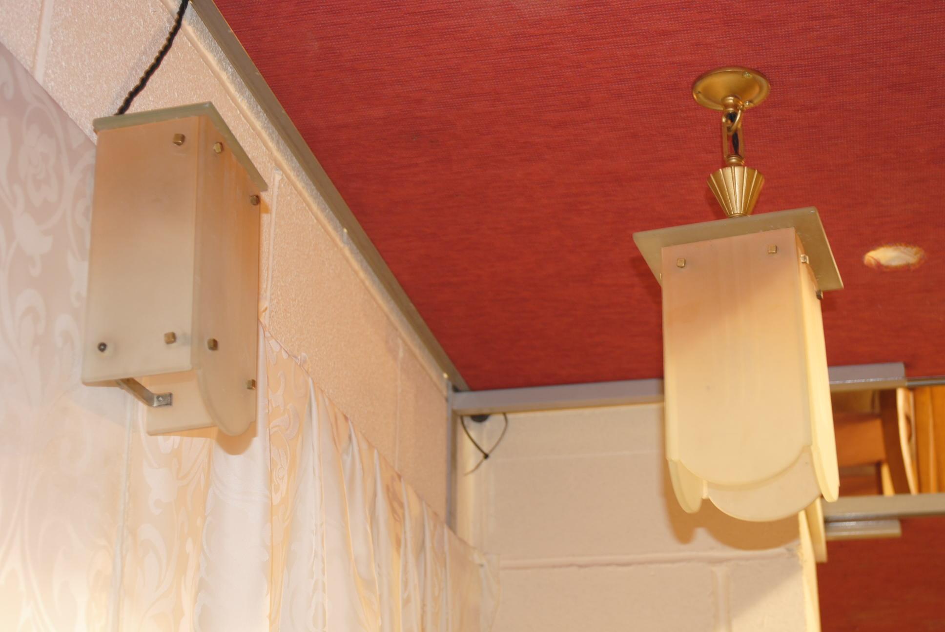 Art Deco Ceiling And Wall Light Cloud 9 Art Deco