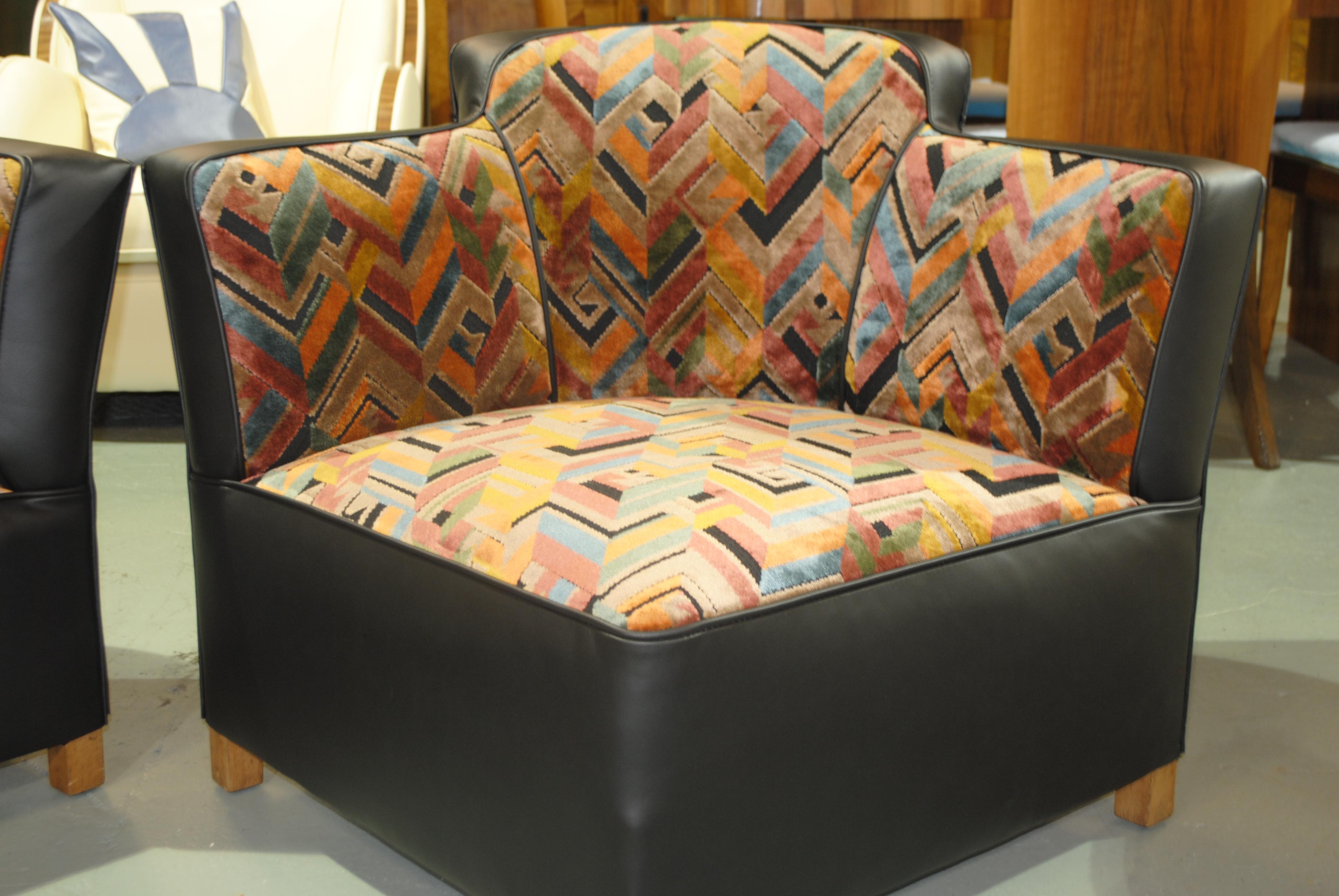 Art Deco Conversation Chairs Love Seats Cloud 9 Art