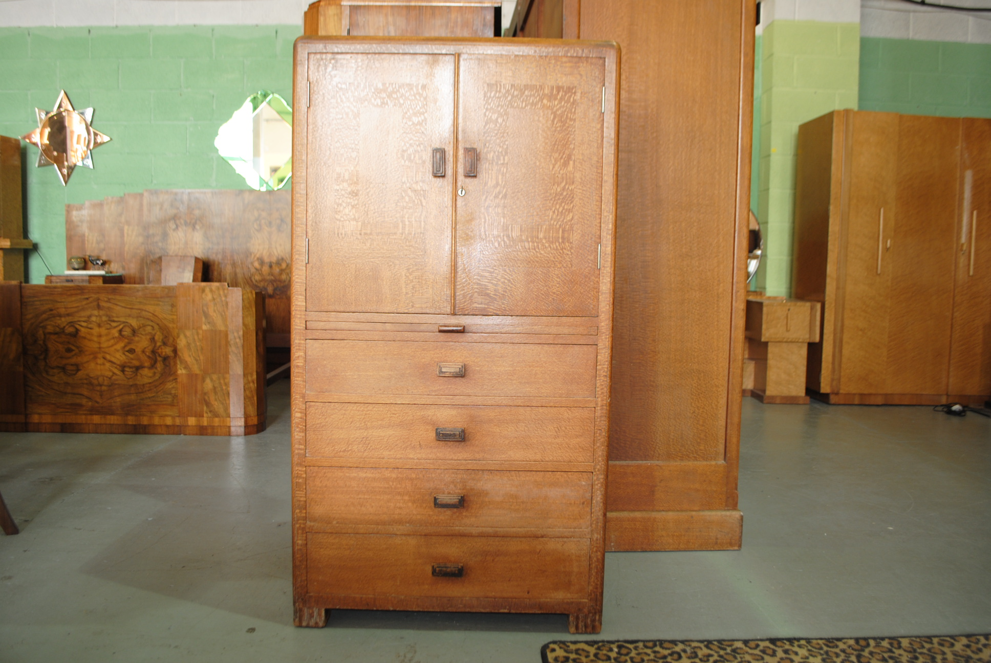 Betty Joel Art Deco Tallboy Cloud 9 Art Deco Furniture
