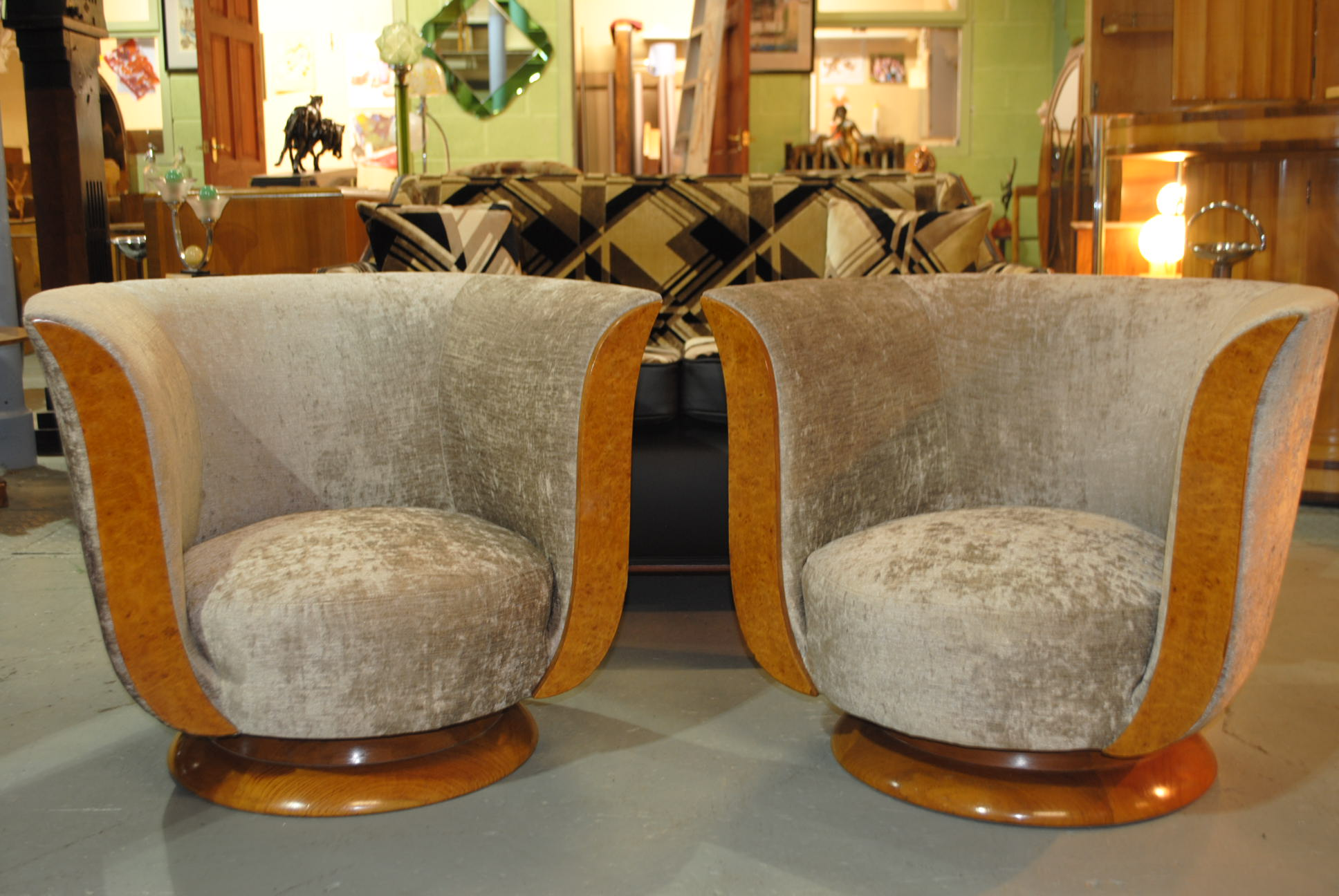Art Deco Chairs Cloud 9 Art Deco Furniture Sales
