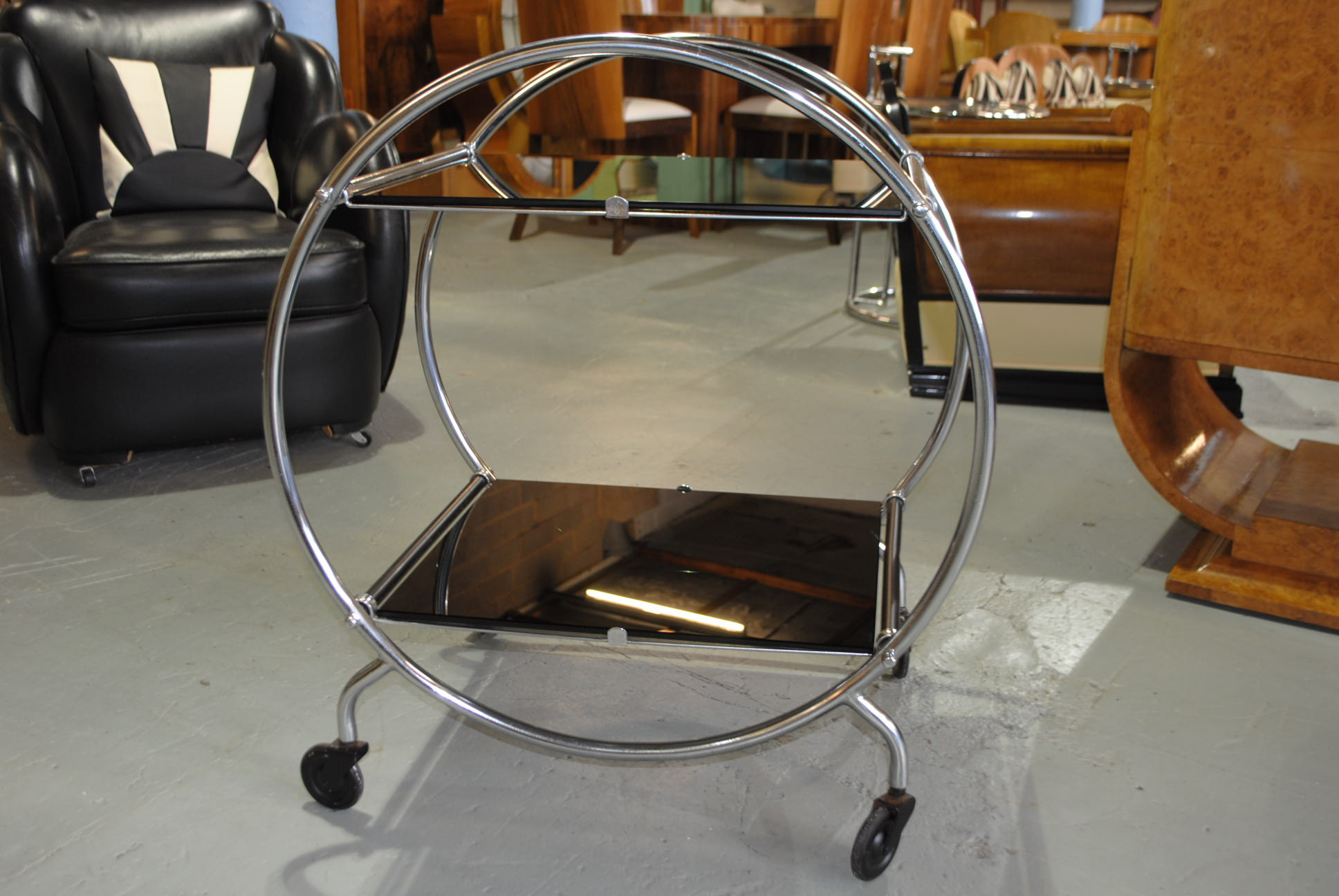 Art Deco Savoy Drinks Trolley Cloud 9 Art Deco
