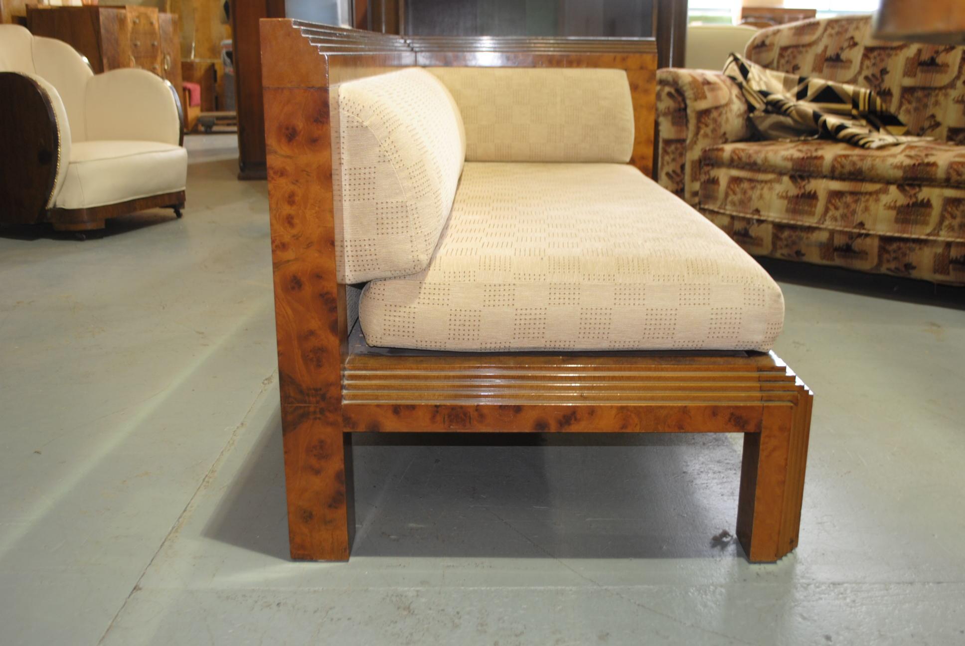 art deco chaise cloud 9 art deco furniture sales. Black Bedroom Furniture Sets. Home Design Ideas