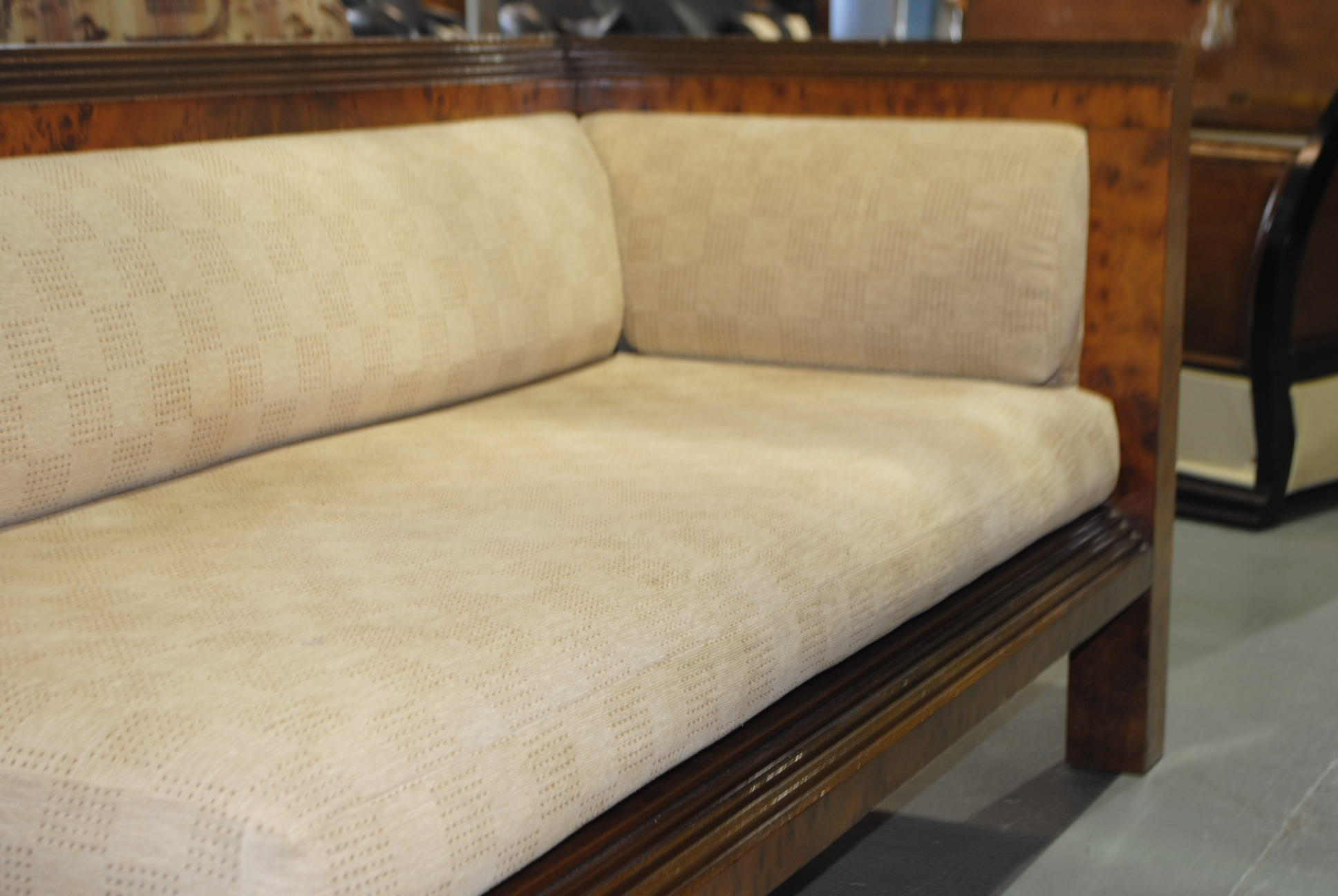 Art deco chaise cloud 9 art deco furniture sales for Chaise furniture sale
