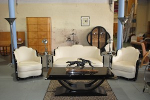 Maurice Adams Art Deco 3 Piece Suite