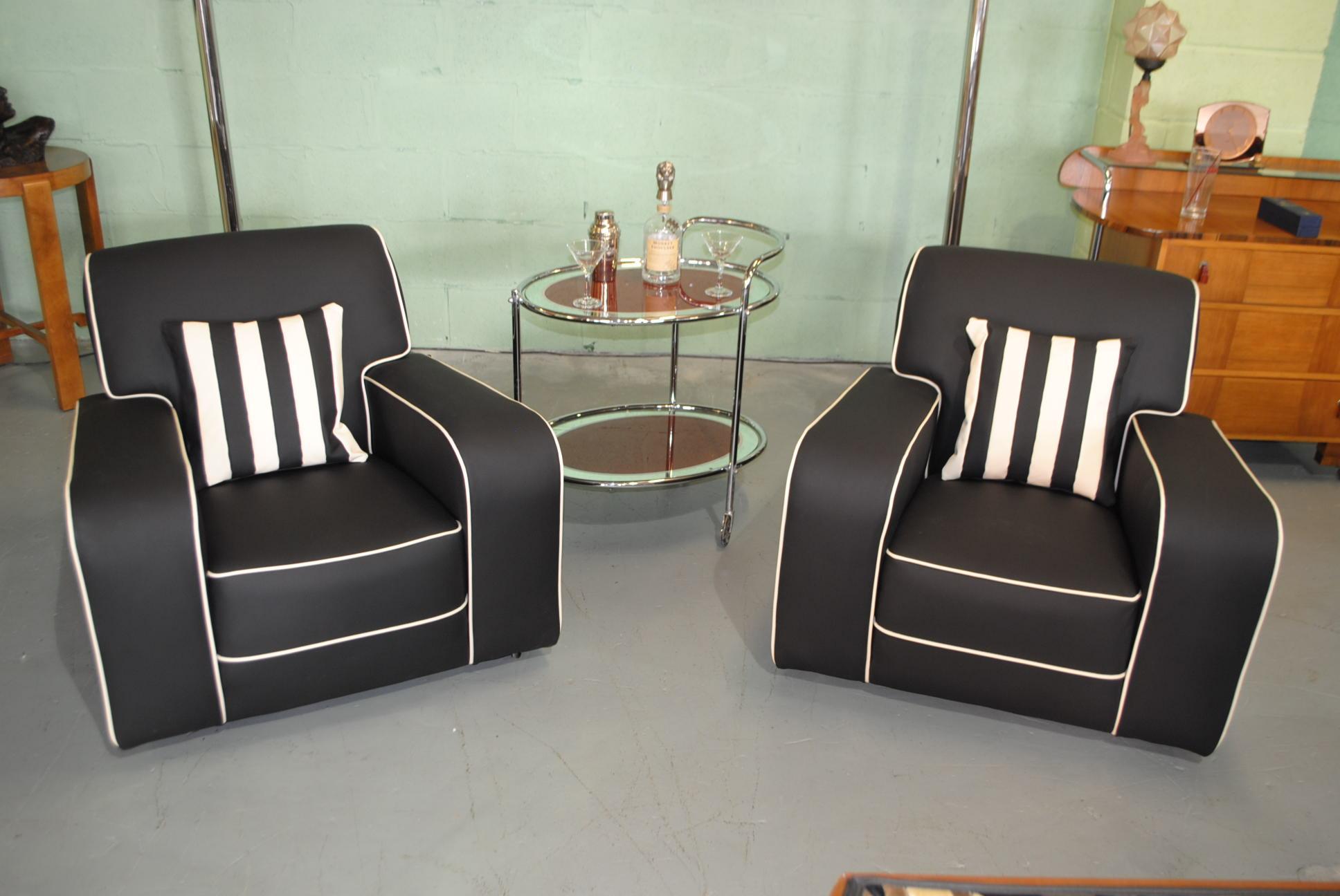 art deco armchairs cloud 9 art deco furniture sales. Black Bedroom Furniture Sets. Home Design Ideas