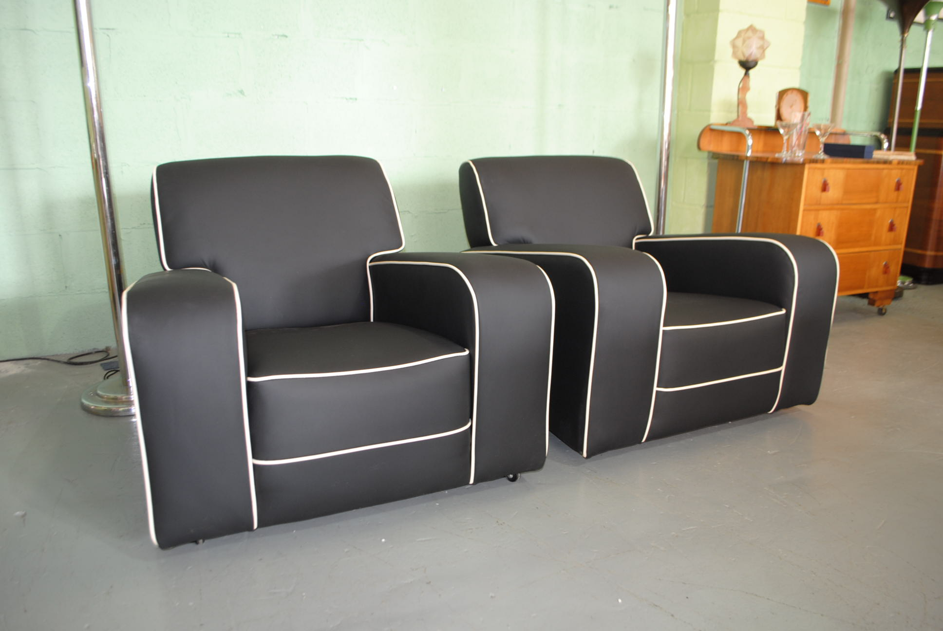 art deco armchairs cloud 9 art deco furniture sales. Black Bedroom Furniture Sets. Home Design Ideas