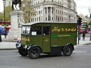 Harrods Delivery Van