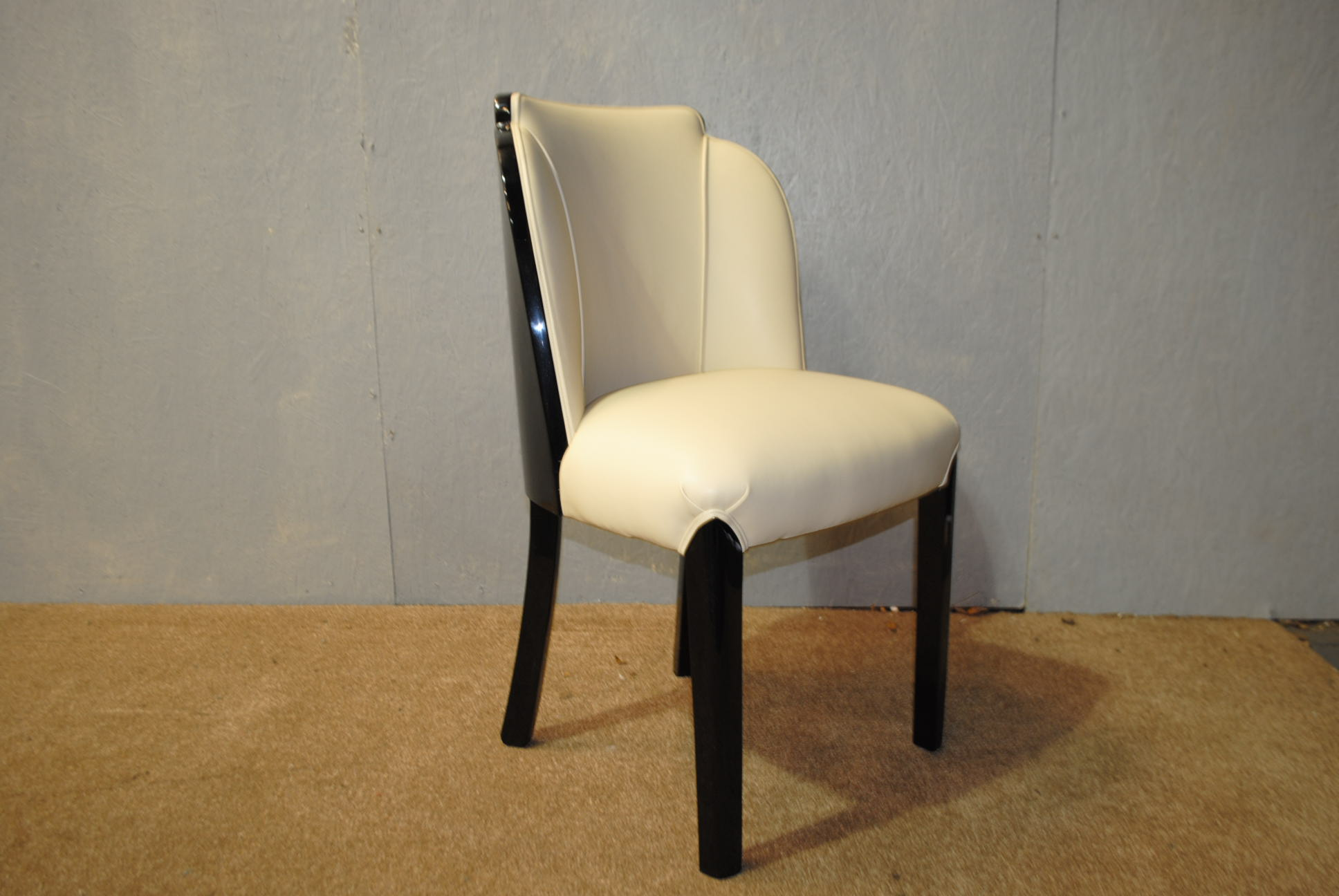 Art deco epstein cloud back chair cloud 9 art deco furniture sales - Epstein art deco furniture ...