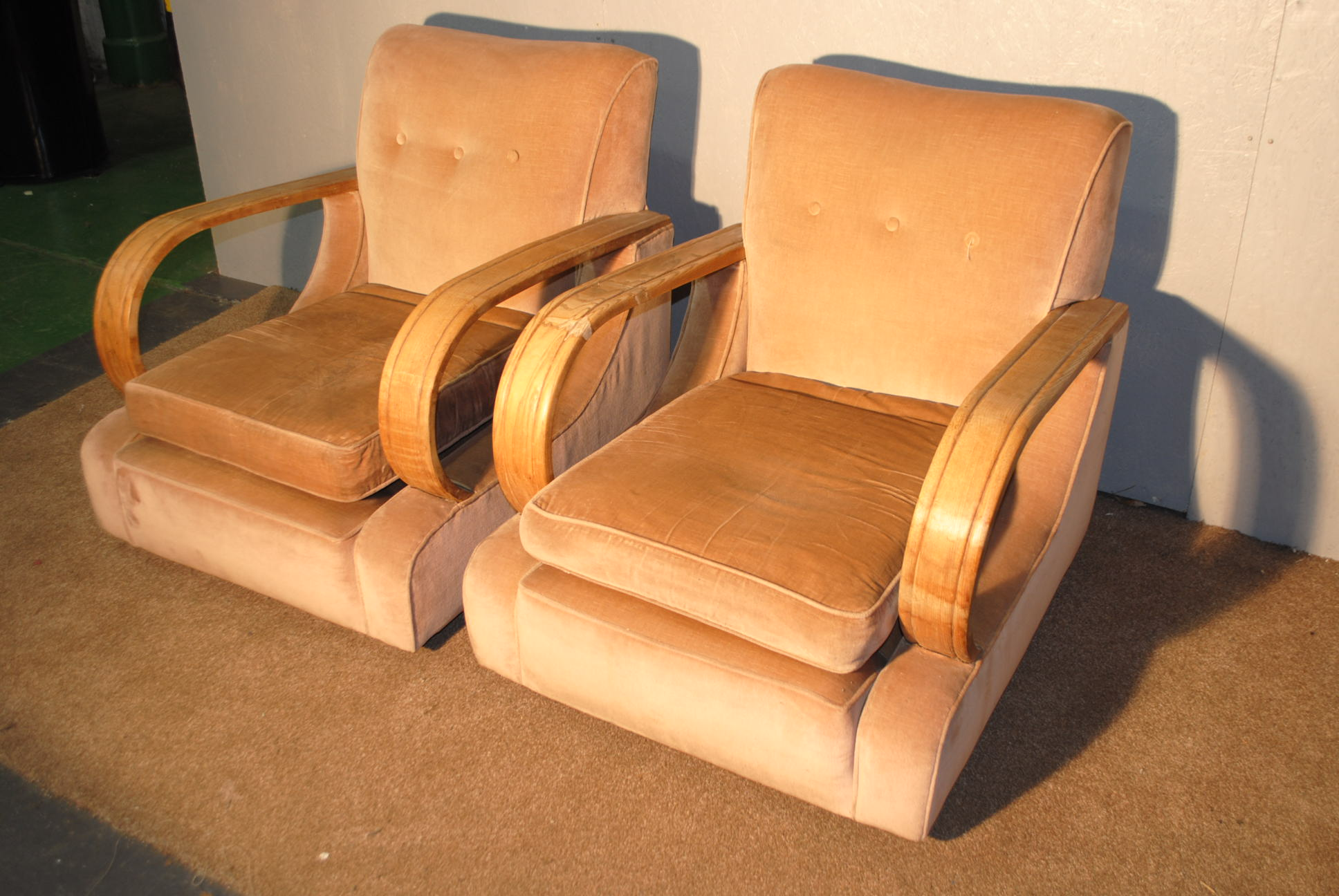 Art deco chairs cloud 9 art deco furniture sales for Deco co