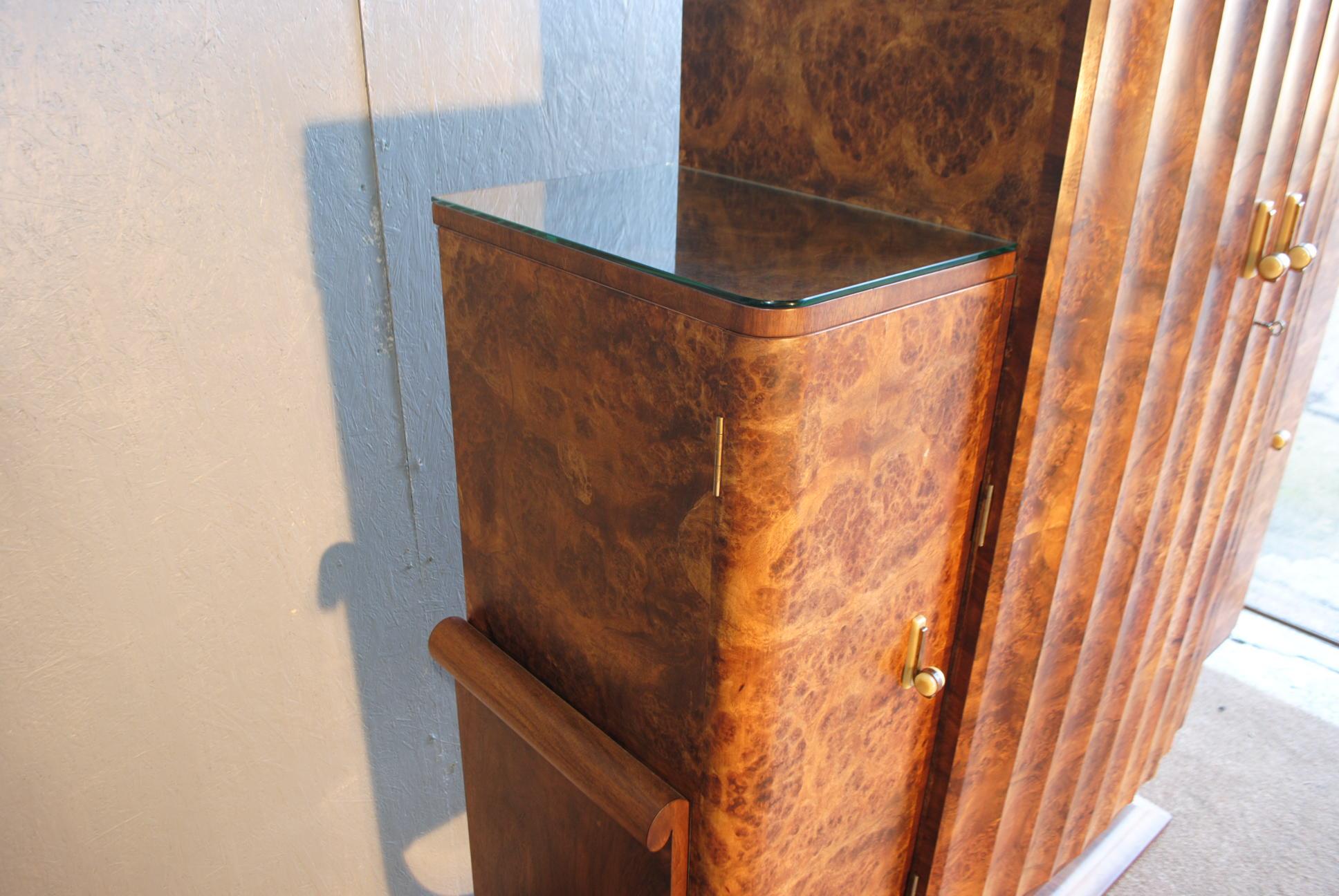 Art Deco Epstein Cocktail Cabinet Cloud 9 Art Deco