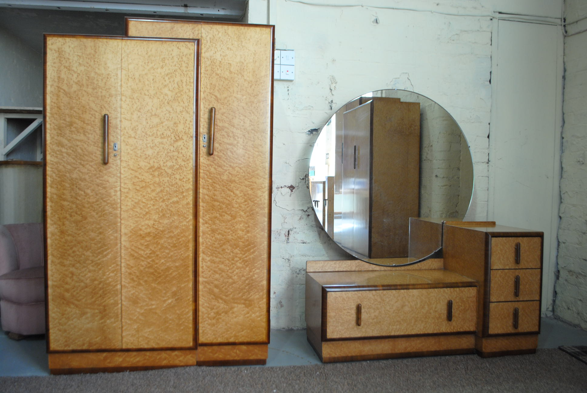 Art Deco Bedroom Suite Cloud 9 Art Deco Furniture Sales