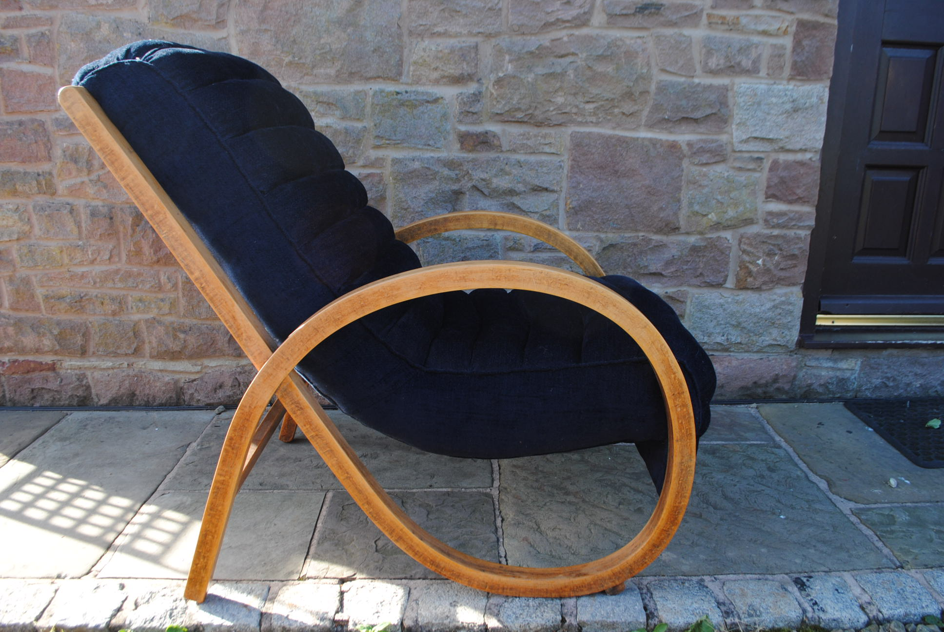 Art Deco Bentwood Lounge Chair Cloud 9 Art Deco