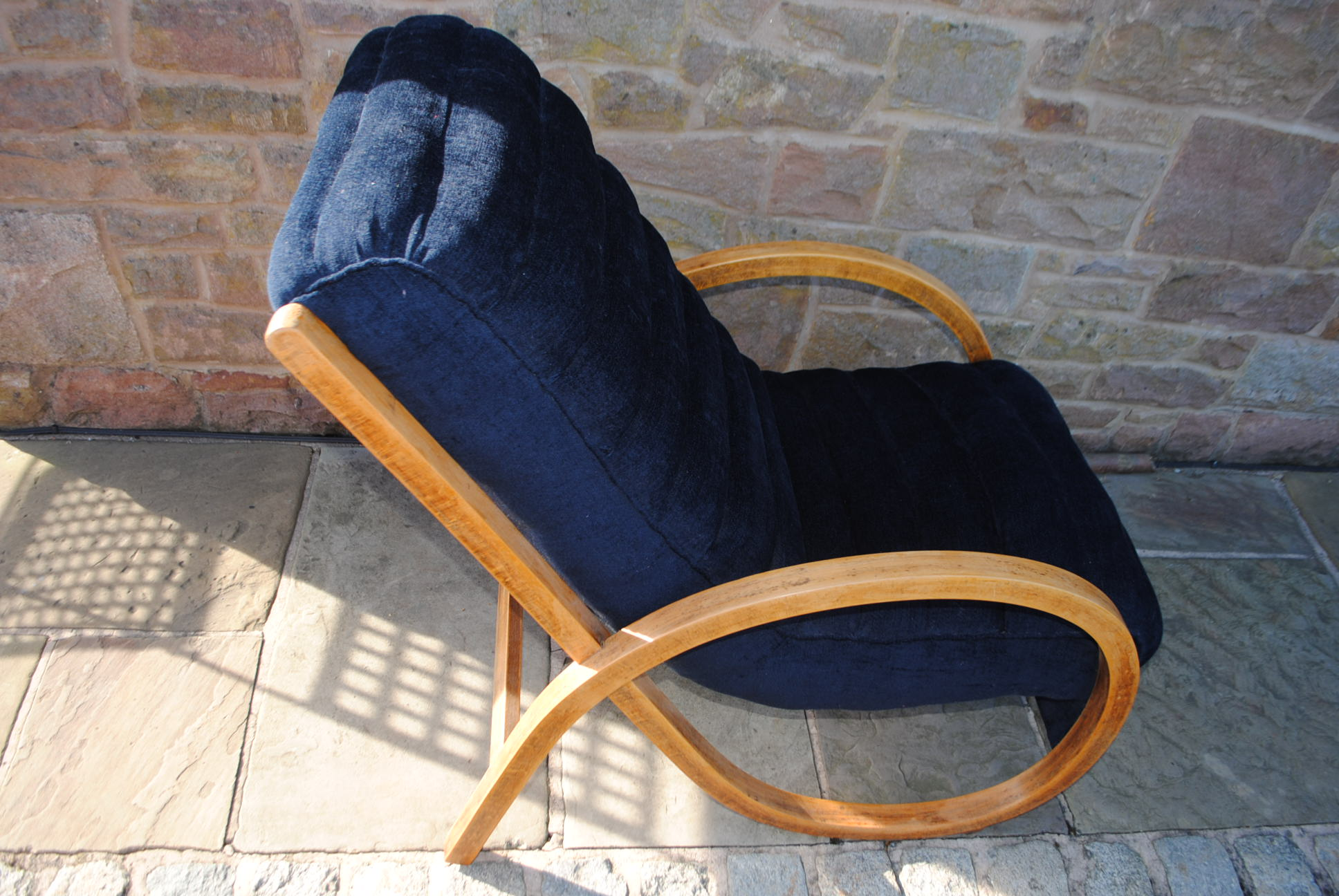 Art Deco Bentwood Lounge Chair Cloud 9 Art Deco