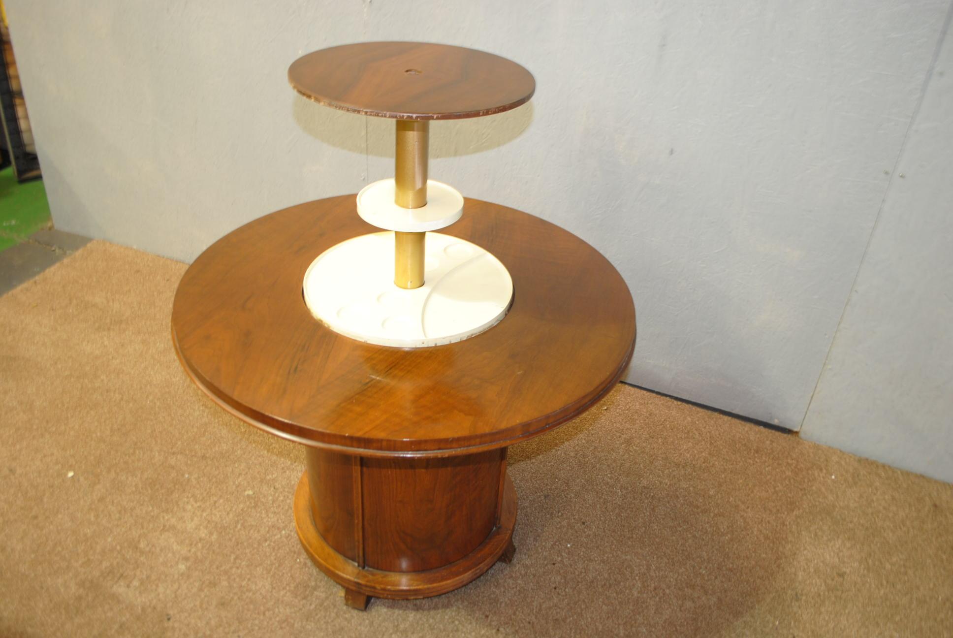 Art Deco Pop Up Cocktail Table Cloud 9 Art Deco