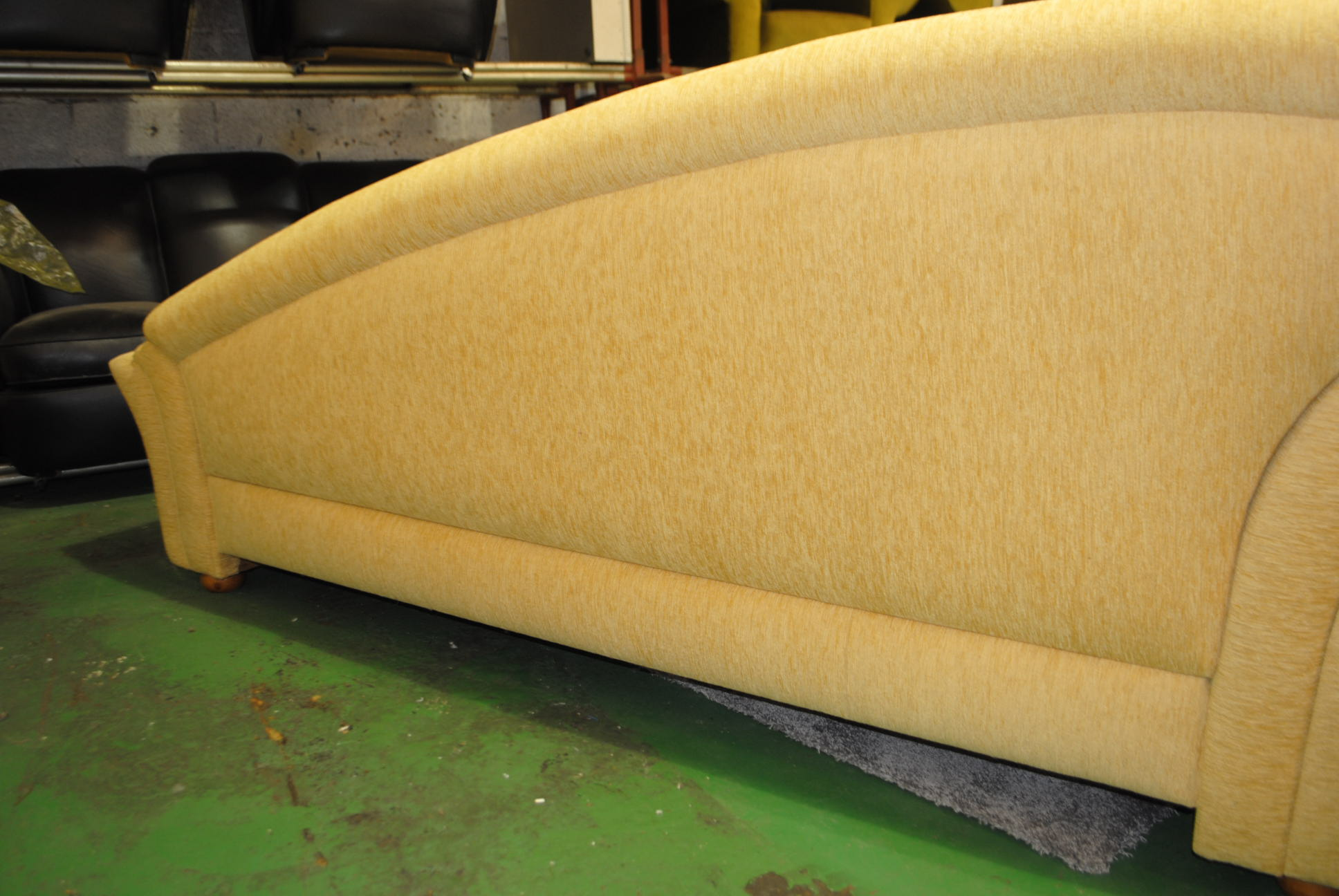 Large art deco chaise cloud 9 art deco furniture sales for Art deco chaise lounge
