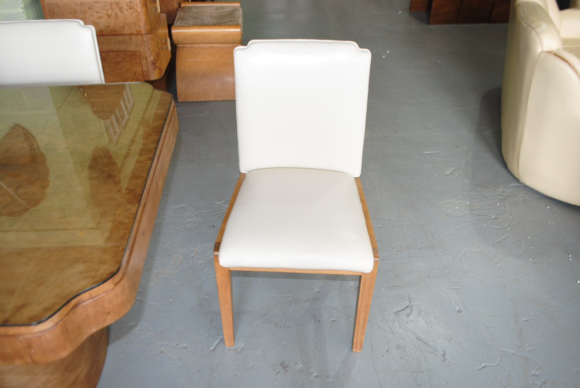 Art Deco Epstein Dining Table And 6 Chairs Cloud 9 Art