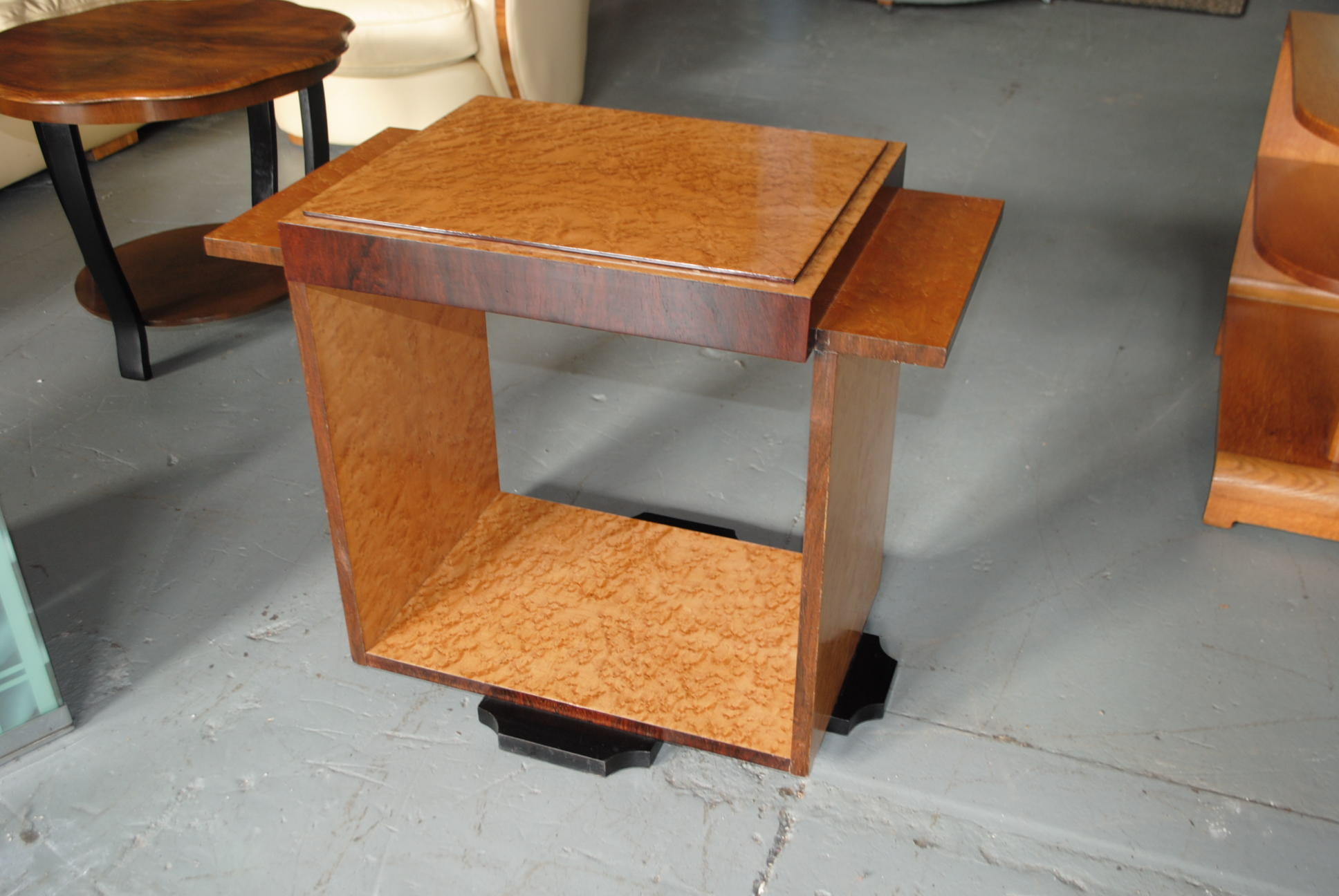 Emile Jacques Ruhlmann Art Deco Console Table Cloud 9