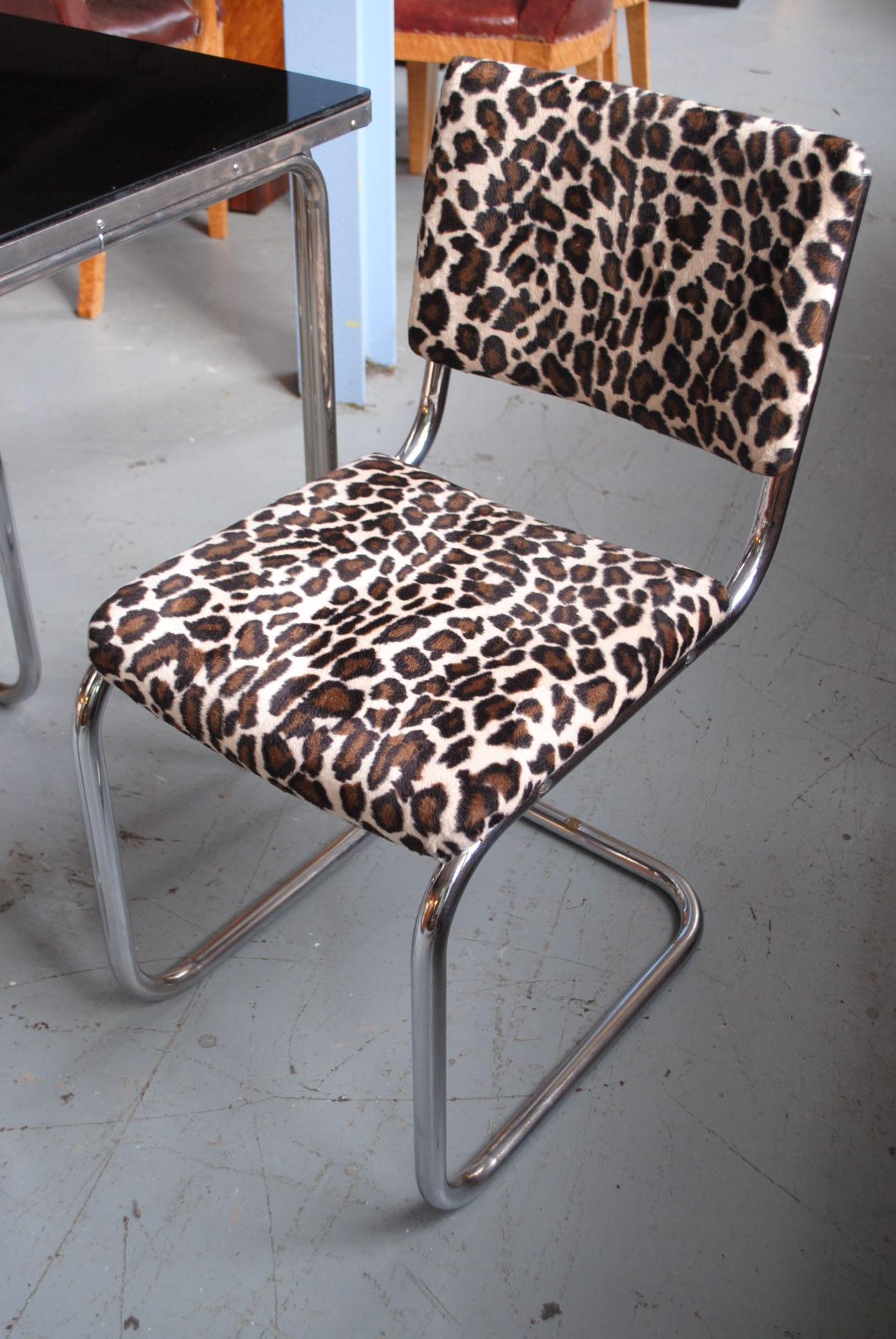 Original Art Deco Pel Chairs From The Rex Cinema 1936