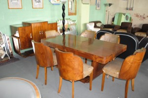 Art Deco Epstein Dining Room Suite What Colour Leather