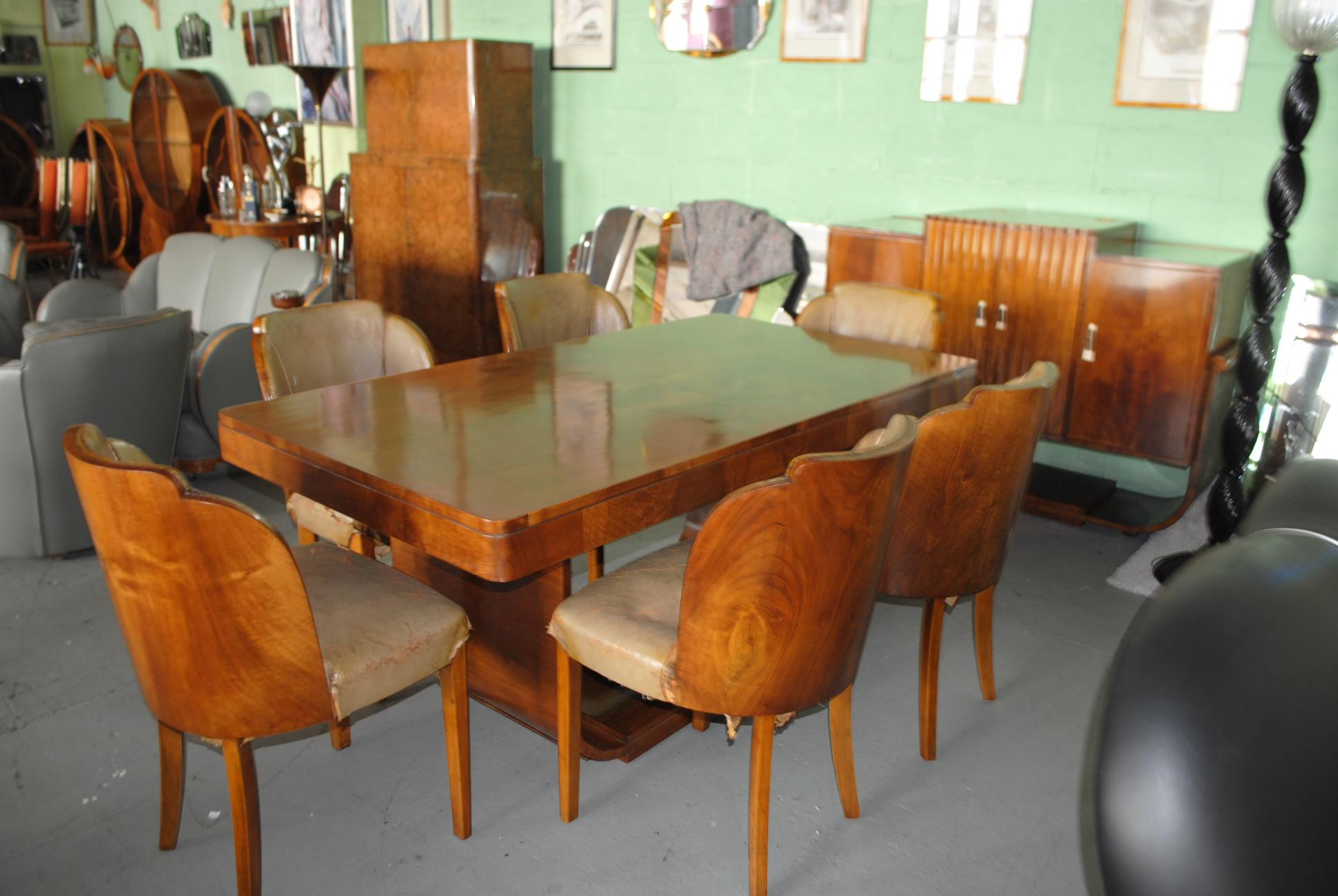 Epstein Art Deco Dining Room Suite F572 1